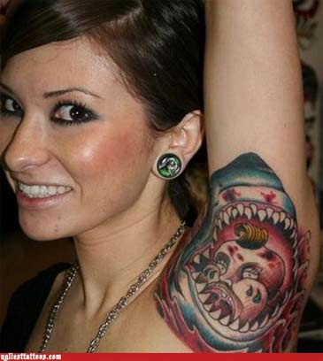 ugliest tattoos si the daily weird . Daca cele de pe ugliest tattoos ...